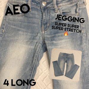 American Eagle Jegging 4 L Super Super Stretch X